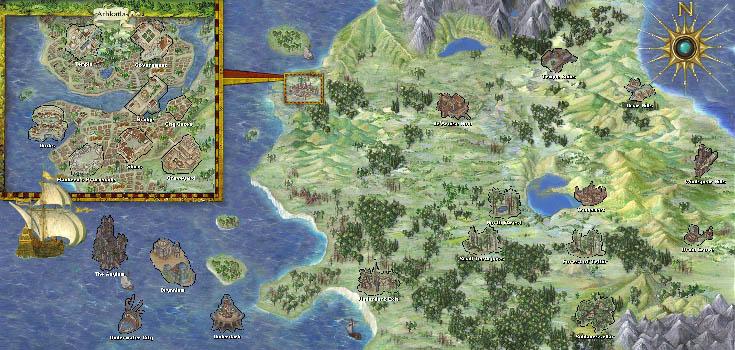 Mike S Rpg Center Baldur S Gate Ii Maps