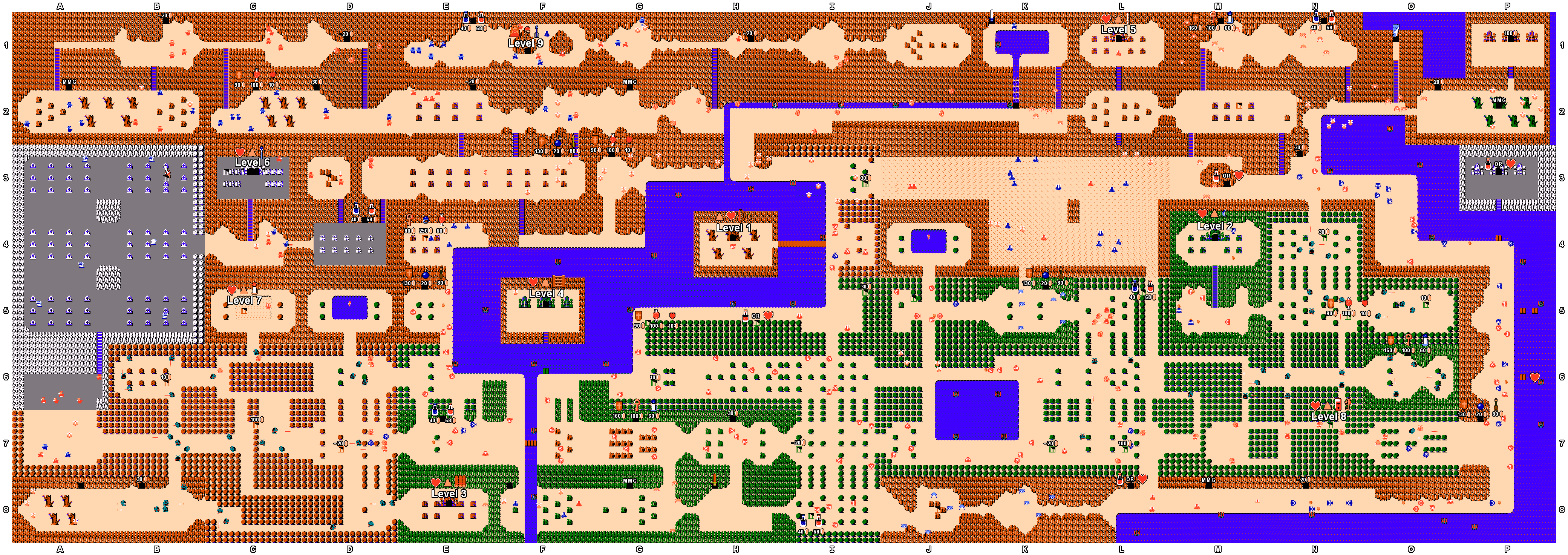 maps  st quest. mike's rpg center  the legend of zelda